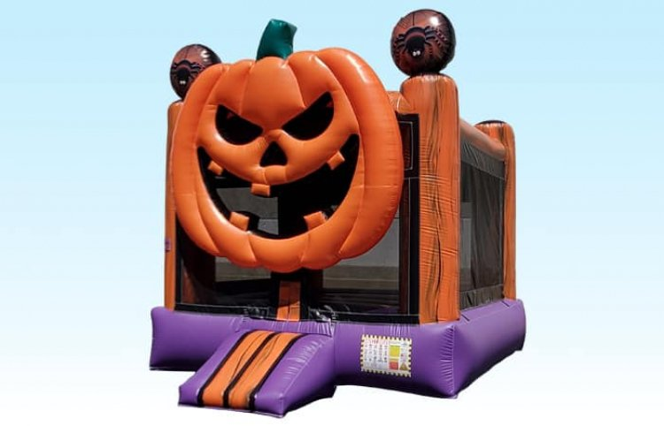 Spooky Pumpkin Bouncer