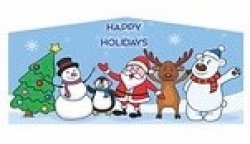 Happy Holidays Banner